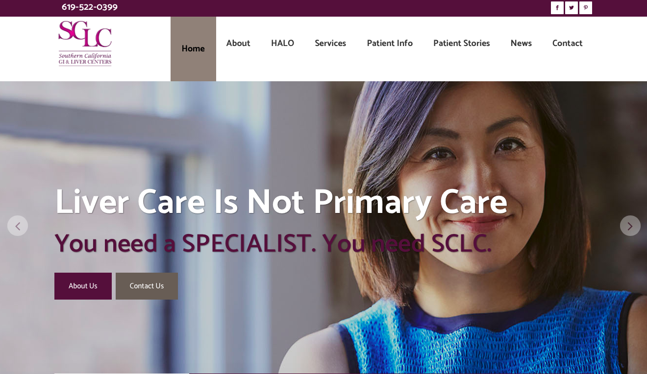 SCLC, southern california liver centers, feed the agency, healthcare marketing, physician marketing